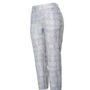Adidas Adistar pants size XL gray white pull on